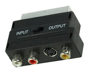 SCART-To-3-RCA-Composite-Phono-SVHS-S-Video-Adaptor-with-In-Out-Switch-Converter