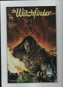 The Witchfinder #1B- November 1999 Scott, Lugibihl - Fire Cover - Image / Liar