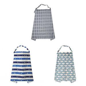 Mum-Breastfeeding-Nursing-Cover-Up-Baby-Poncho-Shawl-Udder-Cotton-Blanket-CY2Z