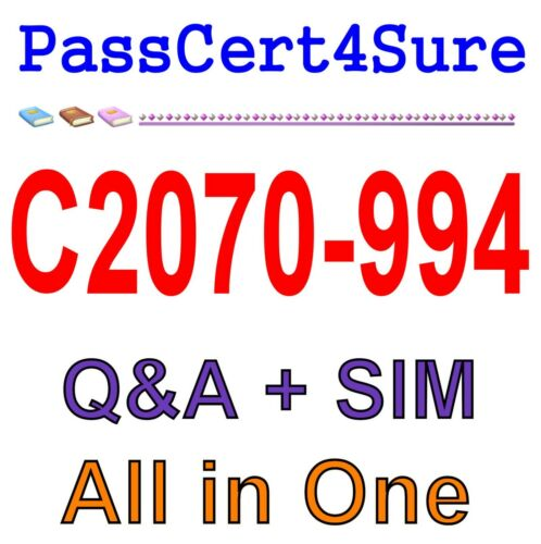 IBM Datacap V9.0 Solution Designer C2070-994 Exam Q/&A+SIM
