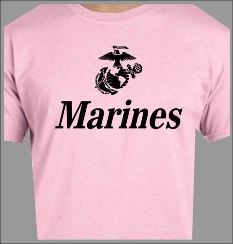 USMC Bulldog T-Shirt Marine Semper Fi Eagle Globe Anchor Military Special Forces