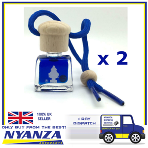 2-X-Magic-Tree-Little-Tree-SPORT-Liquid-Bottle-Home-Car-Air-Freshener-Hanging