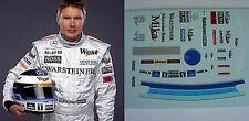 DECALS KIT 1/18 FIGURA + HELMET MIKA HAKKINEN MCLAREN F1 CHAMPIONS 98/99