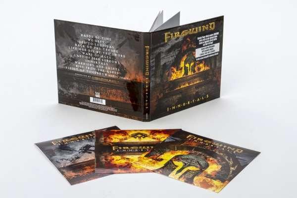 Firewind - Immortals (Edición de Lujo) Nuevo CD