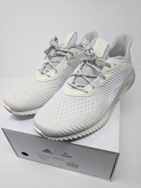 018bd8f47651c adidas x Reigning Champ Alphabounce Shoes Chalk White / Cloud White / Grey
