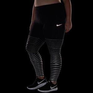 3191d49fcd434c Nike Epic Lux Flash Women's Reflective Tights 1X Plus Purple Gym ...