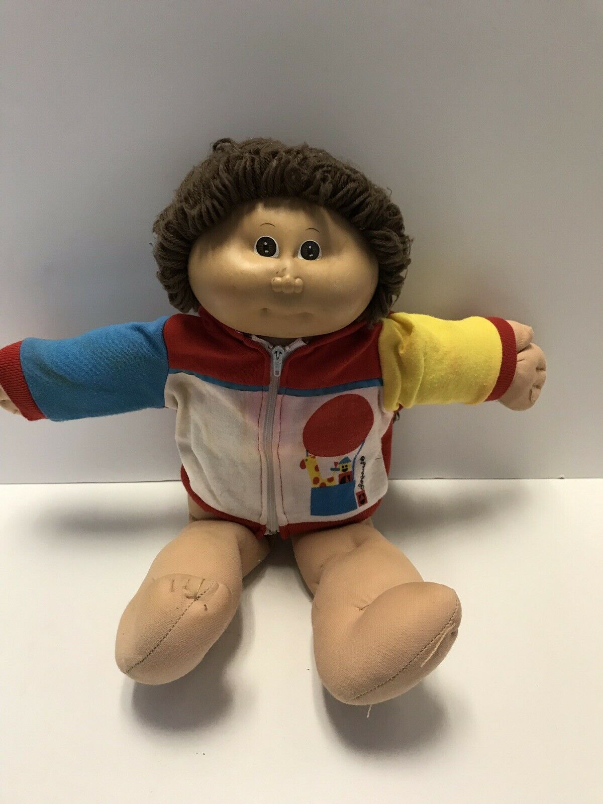 Authentic 1983 1984 Cabbage Patch Kids Doll Dark braun Hair DARLING CUTE