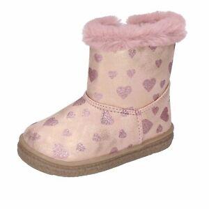 scarpe-bambina-BALDUCCI-stivaletti-rosa-pelle-sintetica-pelliccia-AVERIS-BM808