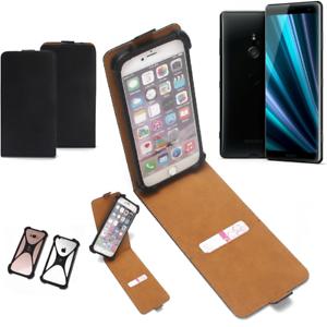Copertina-Flipstyle-Sony-Xperia-XZ3-Flip-Cover-paraurti-smartphone-360