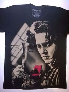 4f65083f2 SWEENEY TODD T-Shirt Demon Barber Tim Burton Johnny Depp Edward ...