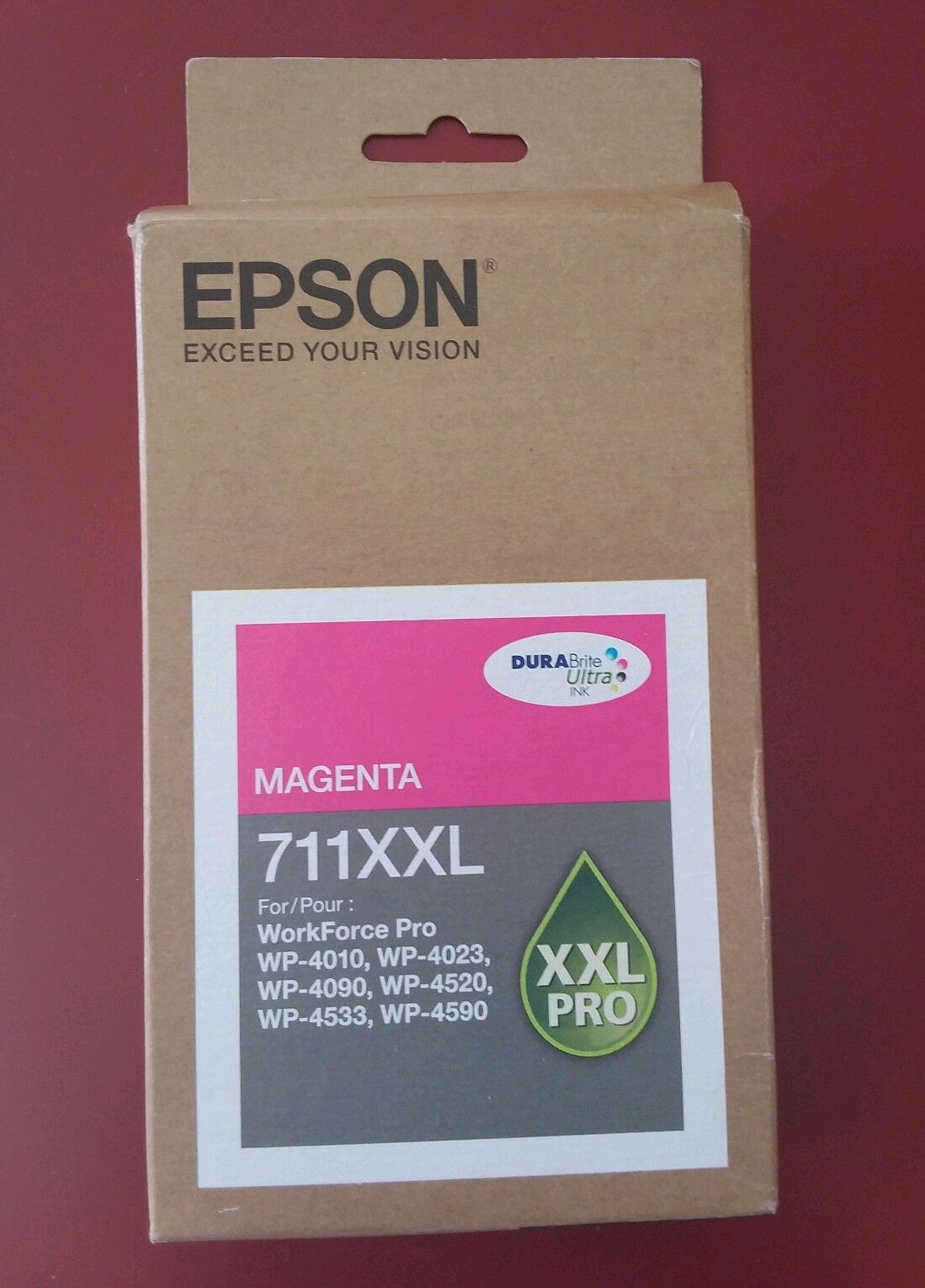 09 2020 NEW Epson T711XXL T711XXL320   Magenta High-Yield Ink WP-4010 4023 4090 .  offering store