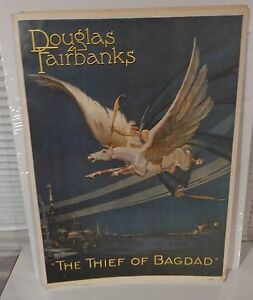 vintage portal publications 20x29 thief of bagdad movie