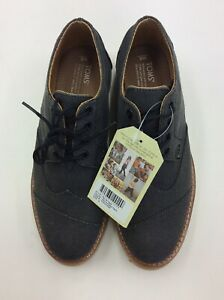 e0bf0f3009d Image is loading TOMS-Men-Brogue-Oxford-Shoes-10007000-Ash-Aviator-