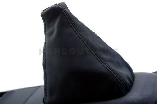 Honda Prelude Manual Shift Boot Real Leather Black for 97-01