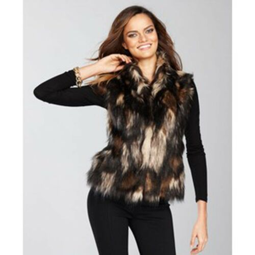 Størrelse 169 Vest Multi Fur 50 Var Pet Black Brown Faux Inc Pet FwYqAW