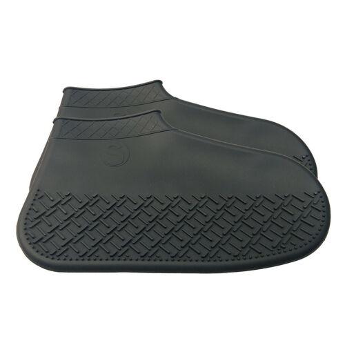 2019 Kids Adult Women Man Boy Girls Rain Shoe Covers Waterproof Foldable Slip