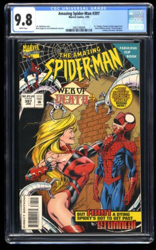 Amazing Spider-Man #397 CGC NM//M 9.8 White Pages