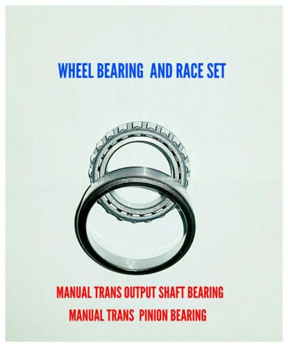 Wheel bearing and race set manual trans L45449//10 A15 Tapered Roller