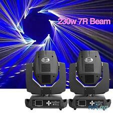 2PCS 230w 7R Zoom Moving Head Light Gobo Beam DMX DJ Party Lighting