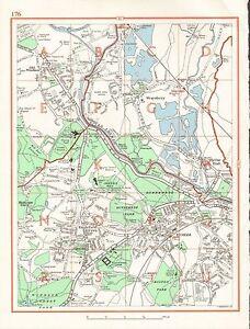 image is loading 1964 vintage london street map old windsor wraysbury