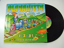 "Playahitty ‎– 1-2-3! (Train With Me) –Disco 12"" MAXI 45 Giri Vinile ITALIA 1995"