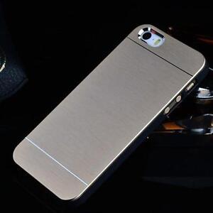 Brushed-Metal-Aluminium-Luxury-Hard-Case-Cover-iPhone-5-5s-iPhone-6