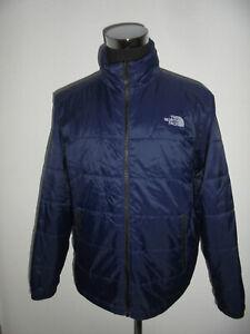 The-North-Face-Jacke-Nylon-outdoor-blau-Herren-vintage-TNF-Gr-XL-TOP-ZUSTAND