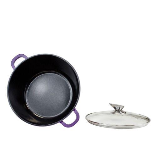 Nea Aluminium Die-Cast  Set 5Pcs Cooking Pot Induction Ceramic Coated