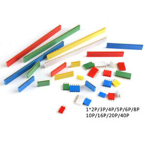 2-54mm-Pitch-Single-Row-Female-Header-Socket-Connector-1x2Pin-to-40Pin-6-Colors