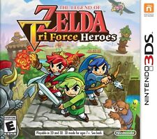 The Legend of Zelda: Tri Force Heroes (Nintendo 3DS) - Brand New/Factory Sealed