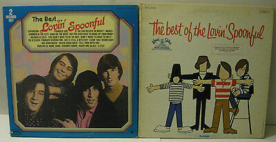 The Lovin' Spoonful - The Best Of (2 Versions) 2 LPs (3 discs)W/ 4 Color Photos