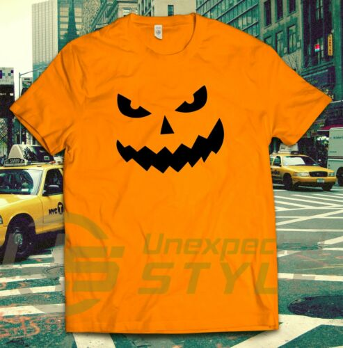 SMILING JACK SCARY HALLOWEEN NOVELTY PUMPKIN FUNNY T-shirt for MENS LADIES KIDS