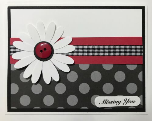 Stampin/' Up Missing You Daisy Card Kit