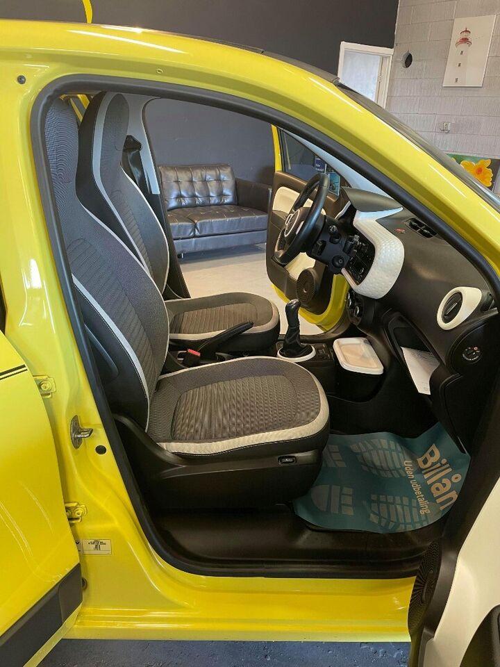 Renault Twingo 1,0 SCe 70 Cabriolet Benzin modelår 2015 km