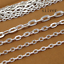 10m-lot-Bronze-Color-Necklace-Chains-Brass-Bulk-for-DIY-Jewelry-Making-Materials thumbnail 10