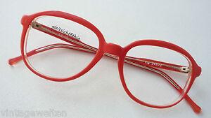 KV-rote-Oversizedbrille-oldschool-XXL-Glasform-Brillenfassung-frame-BOHO-size-M