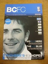 11/02/2004 Birmingham City v Everton  .  This item is supplied by Footy Progs, l