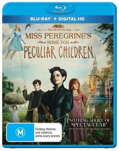 1 of 1 - Miss Peregrines Home For Peculiar Children (Blu-ray, 2017)