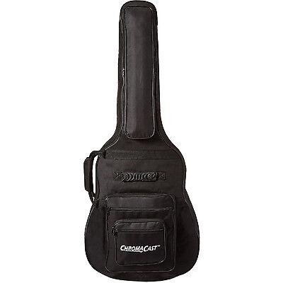 ChromaCast Acoustic Guitar 6-Pocket Padded Gig Bag Fits Most Acoustic Guitars