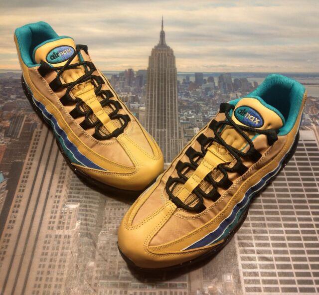 Nike Air Max 95 PRM Premium PralineTurbo Green Cool Grey Size 10 538416 204 New