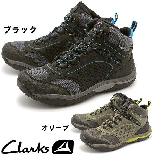 Clarks Men  BLACK ONTOURROUTE GTX PL   Waterproof BLACK  NUBUCK ROCK  UK 11 / 10.5 6ddb4d