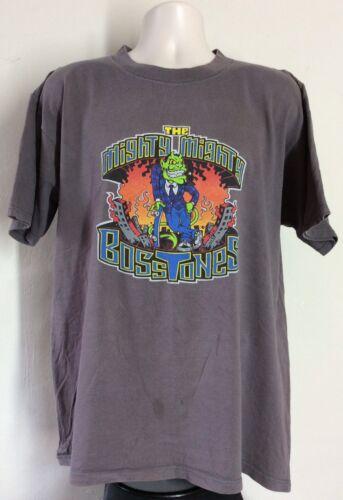 Vtg 1996 Mighty Mighty Bosstones T-Shirt Gray XL 90s Ska Punk Ro