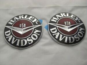 Harley-Davidson-CVO-Emblema-Deposito-Senal-Tanque-14100302-amp-14100303