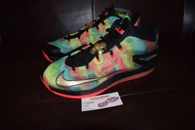 d9951627560 New Nike Max Lebron XI 11 Low SE Multi color Championship Pack Sz 10 695224-