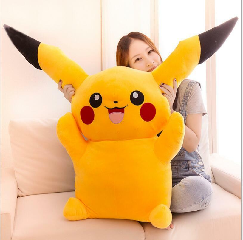 39in. Pikachu Plush High Quality Cute Pokemon Plush Toys doll kdis Gift 100cm