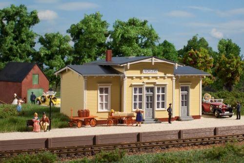 SH Auhagen 11449 Bahnhof Norgens bzw Ferienhaus Bausatz HO