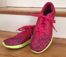 Reebok Z Quick City Series Nanoweb Red/ Yellow Running Shoes Size 10 Women