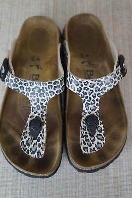 Betula Rap Thong Sandals by Birkenstock size US 4 EUR 34 | eBay