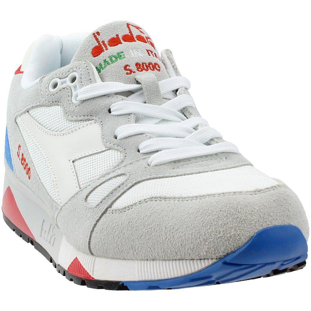 Diadora Diadora Diadora S8000 Nyl Ita Running scarpe - blu;bianca - Mens 47f3ef