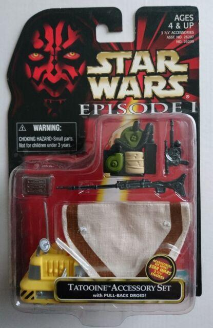 STAR WARS Episode One TATOOINE ACCESSORY SET Hasbro 1998